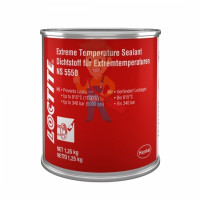 LOCTITE SI 5368 BK 310ML  - LOCTITE NS 5550 BR CAN 1KG