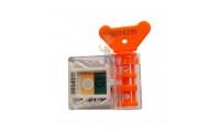 Пломба свинцовая, 10 мм - Антимагнитная пломба АМ-ТФ (DUAL)