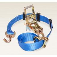 Ремень крепления груза (кольцевой) TD ZPU 2.0 - Ремень автовозный (3 пластиковых накладки)
