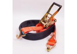 Стяжные ремни - Ремень автовозный (крюк профильный)
