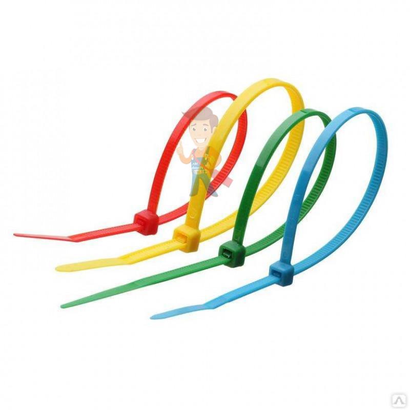 Стяжки нейлоновые КСС 4x200 (кр) (100шт) - фото 1