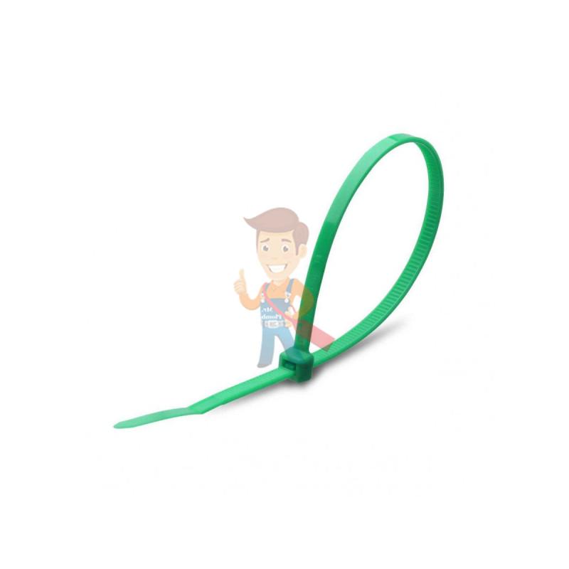 Стяжки нейлоновые КСС 4x150 (зел) (100шт)