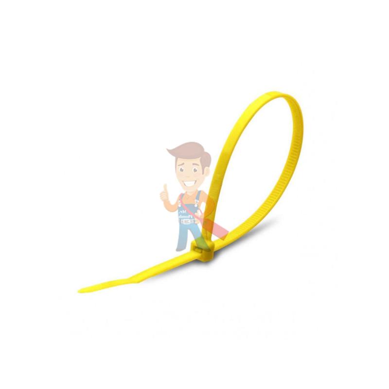 Стяжки нейлоновые КСС 4x150 (ж) (100шт)
