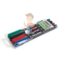 """Фломастер электрика маркировочный ФМ-1,0 (черн.) - Набор фломастеров """"Colorflex"""""""