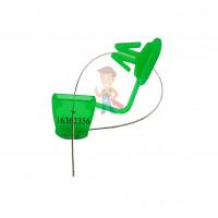 Пломба пластиковая Гарпун - Пломба пластиковая КПП-2-2205