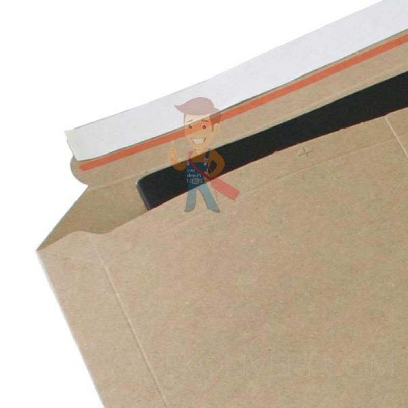 Курьер-пакет В4 250х353 мм из бурого картона 400 гр./м2 - фото 3