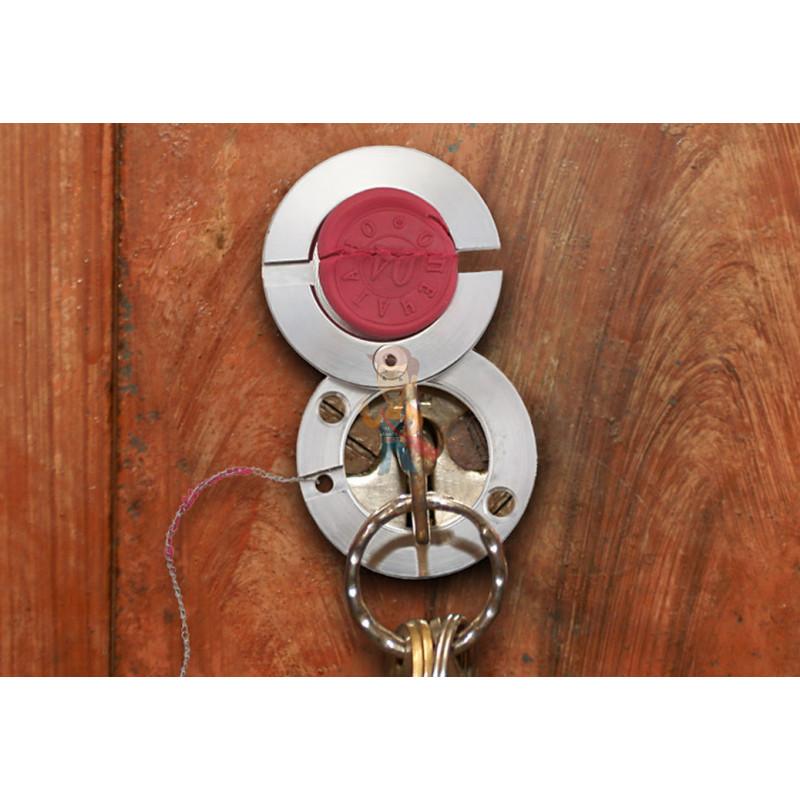 Плашка для опечатывания замочных скважин - фото 3