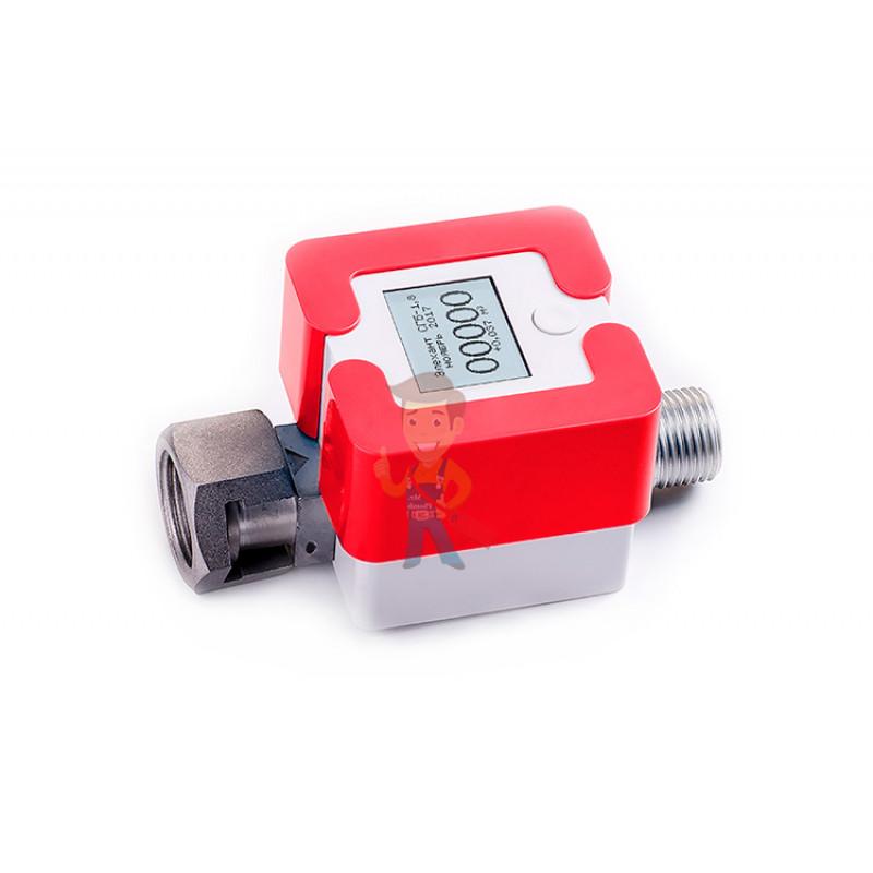 Счетчик газа Элехант СГБ-1,8, красный