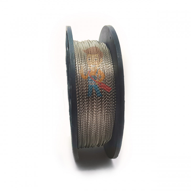 Проволока пломбировочная витая 1 мм - фото 1