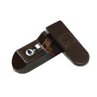 Блокиратор дверей гибкий малый, Lubby, арт.13573 - Защёлка - блокиратор Sash Lock коричневая