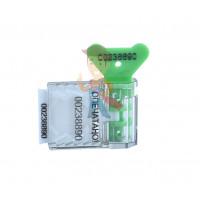 Фора 2+ - Пломба пластиковая номерная Старт, зеленый