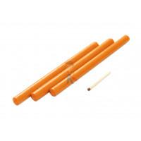 Сургуч стержневой, коричневый - Сургуч стержневой, оранжевый