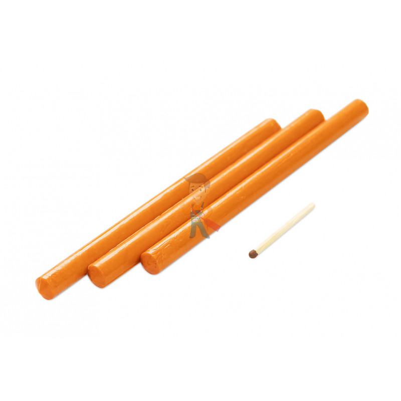 Сургуч стержневой, оранжевый