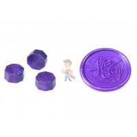 Сургуч в гранулах, бирюзовый - Сургуч в гранулах, фиолетовый