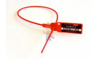 Блокиратор кранов КППК 20 - Пломба пластиковая Универсал 420 (420 мм)