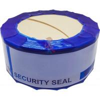 Защитная лента номерная 50х151 мм (66 метров) - Защитная лента номерная синяя 50х150 мм (50 метров)
