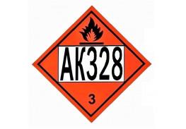Знак опасности АК 328