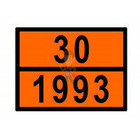 Знак ООН 30/1223 - Знак ООН 30/1993