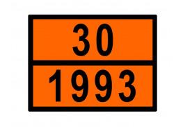 Знаки опасности жд - Знак ООН 30/1993