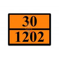 Знак ООН 33/1268 - Знак ООН 30/1202
