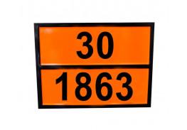 Знаки опасности жд - Знак ООН 30/1863