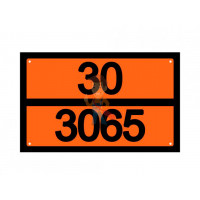 Знак ООН 30/1223 - Знак ООН 30/3065