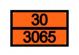 Знаки опасности жд - Знак ООН 30/3065