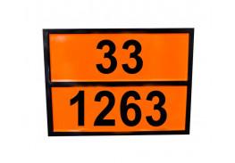 Знаки опасности жд - Знак ООН 33/1263