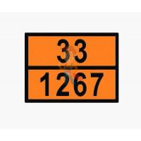 Знак ООН 33/1268 - Знак ООН 33/1267