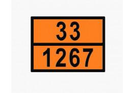 Знаки опасности жд - Знак ООН 33/1267