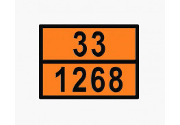 Знаки опасности жд - Знак ООН 33/1268