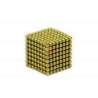 Forceberg TetraCube - куб из магнитных кубиков 6 мм, золотой, 216 элементов - Forceberg Cube - куб из магнитных шариков 2,5 мм, оливковый, 512 элементов