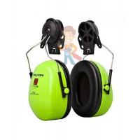 Комплект сменных индивидуальных гигиенических обтюраторов для наушников 3М PELTOR Optime I - Противошумные наушники 3М™ Peltor™ Optime™ III повышенной видимости с креплением на каску