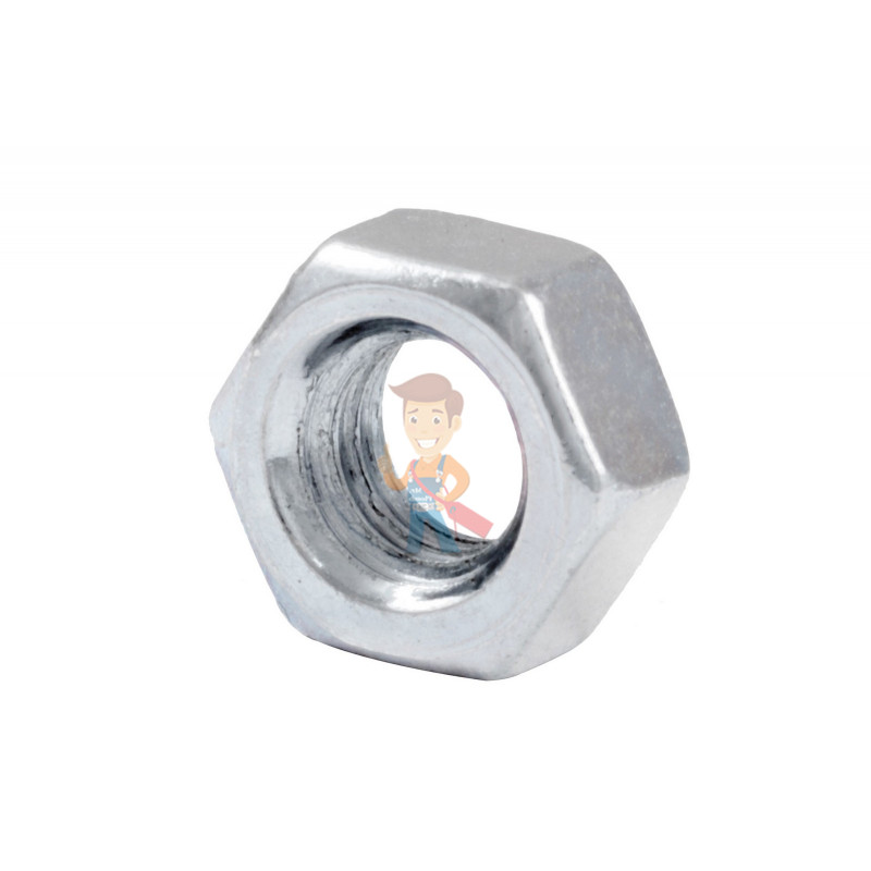 Гайка М5 шестигранная оцинкованная ГОСТ 5915-70 (DIN 934) Forceberg Home&DIY, 40 шт