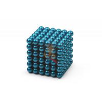 Forceberg Cube - куб из магнитных шариков 5 мм, оранжевый, 216 элементов - Forceberg Cube - куб из магнитных шариков 5 мм, бирюзовый, 216 элементов