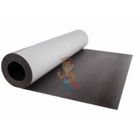 Магнитные виниловые наклейки Forceberg 4x4 см, 50 шт - Магнитный винил с клеевым слоем, лист 0.62х5 м, толщина 1.5 мм