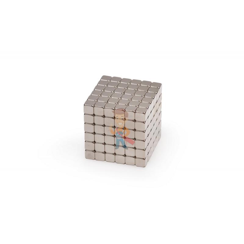 Forceberg TetraCube - куб из магнитных кубиков 4 мм, стальной, 216 элементов