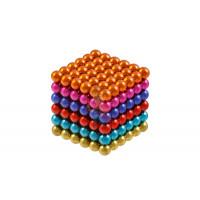 Forceberg Cube - куб из магнитных шариков 5 мм, стальной, 216 элементов - Forceberg Cube - куб из магнитных шариков 6 мм, цветной, 216 элементов
