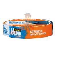 Лента малярная ScotchBlue™ для деликатных поверхностей, 24мм x 55м - Лента малярная ScotchBlue™ для деликатных поверхностей, 24мм x 55м