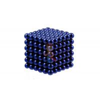 Forceberg Cube - куб из магнитных шариков 5 мм, оранжевый, 216 элементов - Forceberg Cube - куб из магнитных шариков 6 мм, синий, 216 элементов