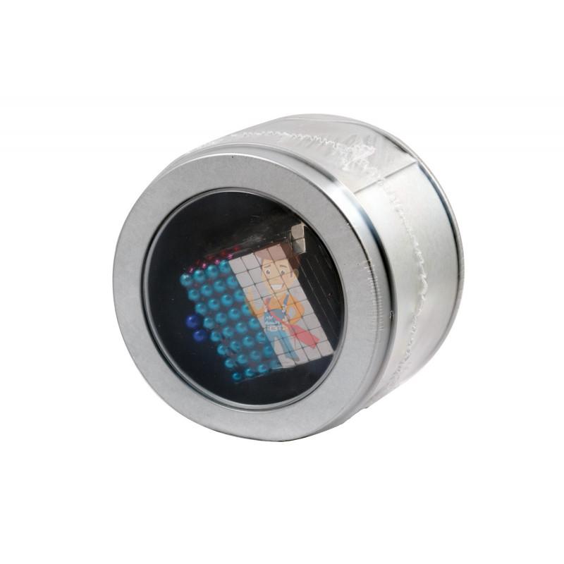 Forceberg Cube - куб из магнитных шариков и кубиков 5 мм, цветной/стальной, 512 элементов - фото 5