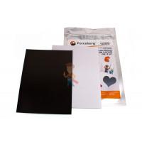 Магнитные виниловые наклейки Forceberg 1.3х2.5 см, 50 шт - Магнитный винил с клеевым слоем Forceberg А4, 2 шт