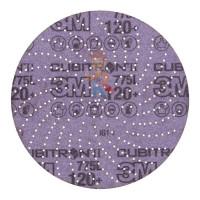 Лист шлифовальный для удаления сильных загрязнений A MED коричневый 158 мм х 224 мм - Шлифовальный круг Клин Сэндинг, 120+, 150 мм, Cubitron™ II, Hookit™ 775L, 5 шт./уп.