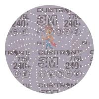 Лист шлифовальный, A VFN, зеленый, 158 мм х 224 мм, 07496 - Шлифовальный круг Клин Сэндинг, 240+, 150 мм, Cubitron™ II, Hookit™ 775L, 5 шт./уп.