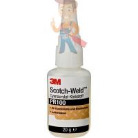 Клей-спрей 80 неопреновый 710 мл - Клей цианоакрилатный Scotch-Weld™, PR100 прозрачный, 20 г