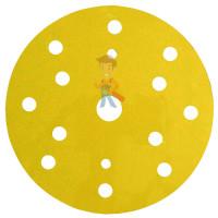 Круг Абразивный, золотой, 15 отверстий, Р80, 150 мм,3M™ Hookit™ 255P+, 10 шт/уп - Круг Абразивный, золотой, 15 отверстий, Р180, 150 мм,3M™ Hookit™ 255P+, 10 шт/уп