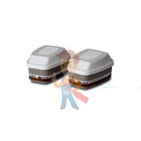 Держатель противоаэрозольных предфильтров 3M™ 501, 1 пара - Фильтр комбинированный от газов, паров, аэрозолей, АХРЗ NR упаковка 2 шт.