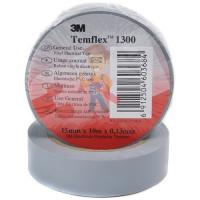 Изолента ПВХ, набор из 10 шт 15 мм x 10 м, TEMFLEX 1300 KIT 15MM - ПВХ изолента универсальная, белая, 15 мм x 10 м