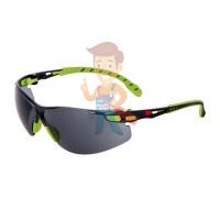 Cалфетки очищающие 3M, для ухода за очками, 100 шт. в индивидуальных упак. - Открытые защитные очки из поликарбоната, серые, с покрытием Scotchgard™