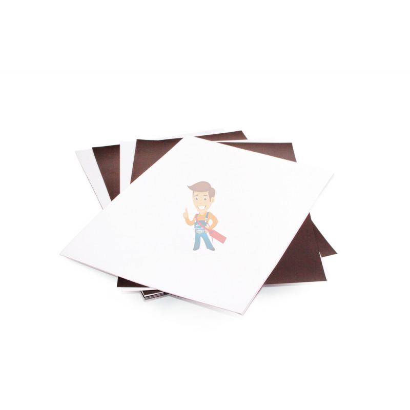Магнитная бумага А4 матовая Forceberg 5 листов - фото 1